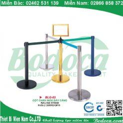 Cột chắn inox dây căng 2m LG-03