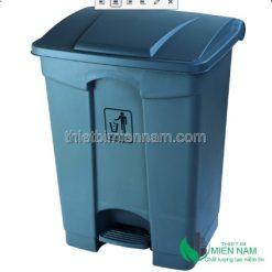 Thùng Rác Nhựa Đạp Chân Bền Đẹp 87 Lít